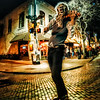 "<h2>The Wolfman Violinith</h2> <br/>Here's my favorite photo from the Austin Photowalk … one of the many street performers howls into the streetlight moon… <br/><br/>- Trey Ratcliff<br/><br/><a href=""http://www.stuckincustoms.com/2013/03/19/the-great-austin-sxsw-photowalk/"" rel=""nofollow"">Click here to read the rest of this post at the Stuck in Customs blog.</a>"