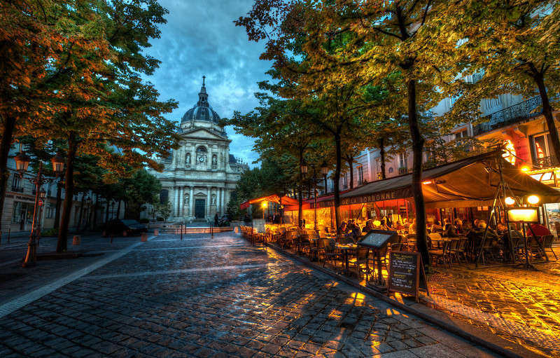 The Sorbonne in the Evening