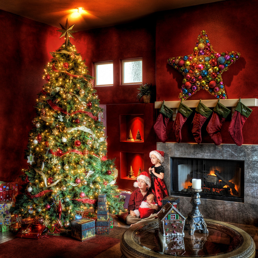 Christmas HDR Photo