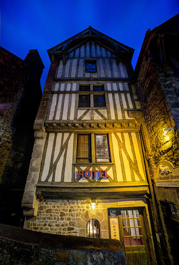 Tall Medieval Hotel