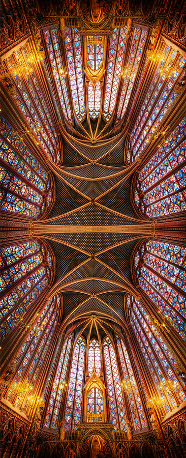 The Crystal Forever in Sainte Chapelle
