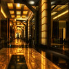 "<h2>Inside the Borg Ship</h2> <br/>There is an amazing hallway that connects the The Hotel at Mandalay Bay with the rest of the casino.  It's long and at its end is a cool bar, which is a welcome respite no matter what kind of night you had in Vegas.  Actually, I wouldn't really know since I don't drink... but, I do like to hang out in them, drink tomato juice, and process photos on my latptop.  Yes, this is lame, I know.<br/><br/>- Trey Ratcliff<br/><br/><a href=""http://www.stuckincustoms.com/2009/08/04/the-hallway-to-the-bar-after-a-bad-night-in-vegas/"" rel=""nofollow"">Click here to read the rest of this post at the Stuck in Customs blog.</a>"