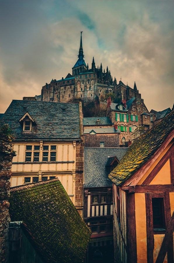 The Tower of Mont Saint Michel