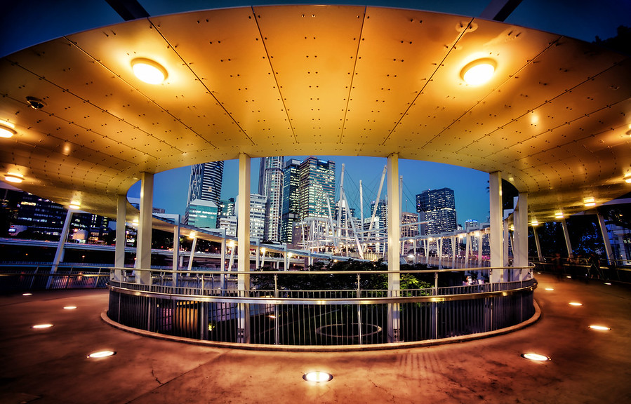 The Circular Walkway in Brisbane
