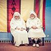 Two Men In Jilabas In Morocco