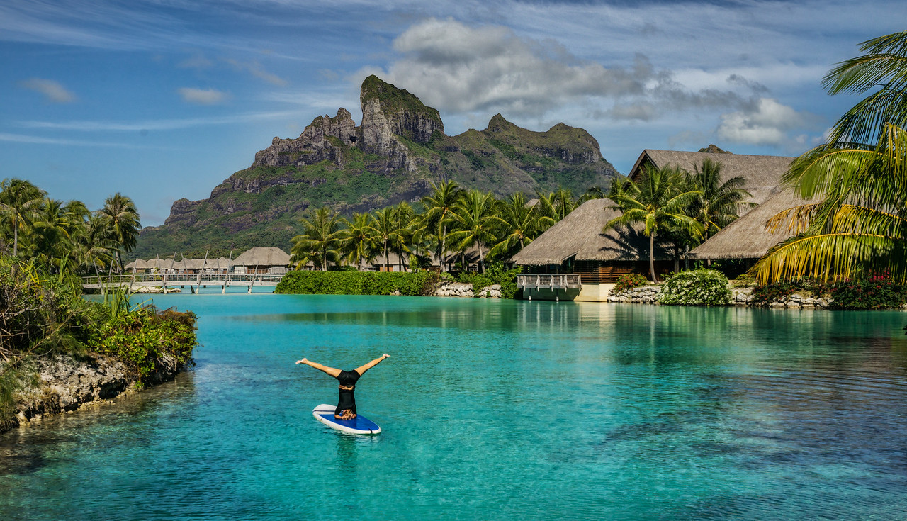 Yoga In Bora Bora