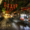 "<h2>Dark Street with Lanterns in China</h2> <br/>Here's another night scene from China a few weeks ago. I'm always a sucker for these Chinese lanterns. They just always seem so authentic, even though I am sure that most of the time they are just strange anachronisms and no longer the most efficient way to light up the area. But, as far as anachronisms go, it's one of my favorites!<br/><br/>- Trey Ratcliff<br/><br/><a href=""http://www.stuckincustoms.com/2013/06/27/optometrists-and-google-glass/"" rel=""nofollow"">Click here to read the rest of this post at the Stuck in Customs blog.</a>"