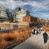 "<h2>The Park Through the Sky</h2> <br/>Isn't this park awesome?  It is an elevated park that weaves along top of New York City.  Hardly anyone knows about it! <br/><br/>Of course, people in New York know about it, and they assume that everyone else should know too.  It's relatively new -- I think it only opened a few years ago.  It's called ""High Line Park"", and it used to have freight trains that ran up and down it back in the 1930's.  That train service is dead, and they converted the entire thing into a long, meandering park.<br/><br/> - Trey Ratcliff <br/><br/>Read more <a href=""http://www.stuckincustoms.com/2010/08/05/tutorial-hdr-em-portugues/"">here</a> at the Stuck in Customs blog."