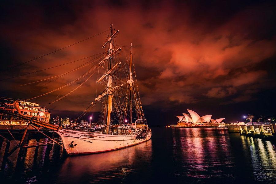 Pirate Ship Sydney Harbour