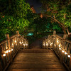 "<h2>Bridge Through Steamy Jungle</h2> Here's another photo from that Disney resort in Oahu.  I guess there's nothing about that make it Disney other than it's kinda cool and ""feels"" right.  It makes me wish all bridges had little lights like this!<br/><br/>Just in the distance there maybe you can make out a bit of light blue water.  That is part of a little lazy river that snakes around the property.  By this time, I was pretty tired and was really thinking about jumping on a raft while people handed me hors d' oeuvres while I floated by...<br/><br/>- Trey Ratcliff<br/><br/><a href=""http://www.stuckincustoms.com/2012/03/29/bridge-through-steamy-jungle/"" rel=""nofollow""> Read the rest of this post at the Stuck in Customs blog.</a>"