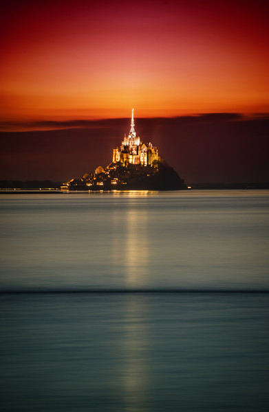 "<h2>Mont Saint Michel</h2> <br/>After Paris, I rented a car with Tom and we drove off through France through Normandy. We finally arrived at this magical place — an amazing location I've always wanted to visit.<br/><br/>It's a huge fortified monastery atop a fortified and walled city. At low-tide, you can walk out across the sand to get there, but in high tide, it becomes an island. Is there anything more awesome? I don't think so!<br/><br/>- Trey Ratcliff<br/><br/><a href=""http://www.stuckincustoms.com/2012/11/22/mont-saint-michel/"" rel=""nofollow"">Click here to read the rest of this post at the Stuck in Customs blog.</a>"
