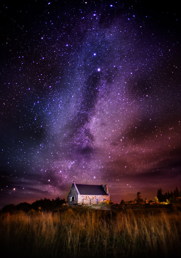 The Church at Lake Tekapo
