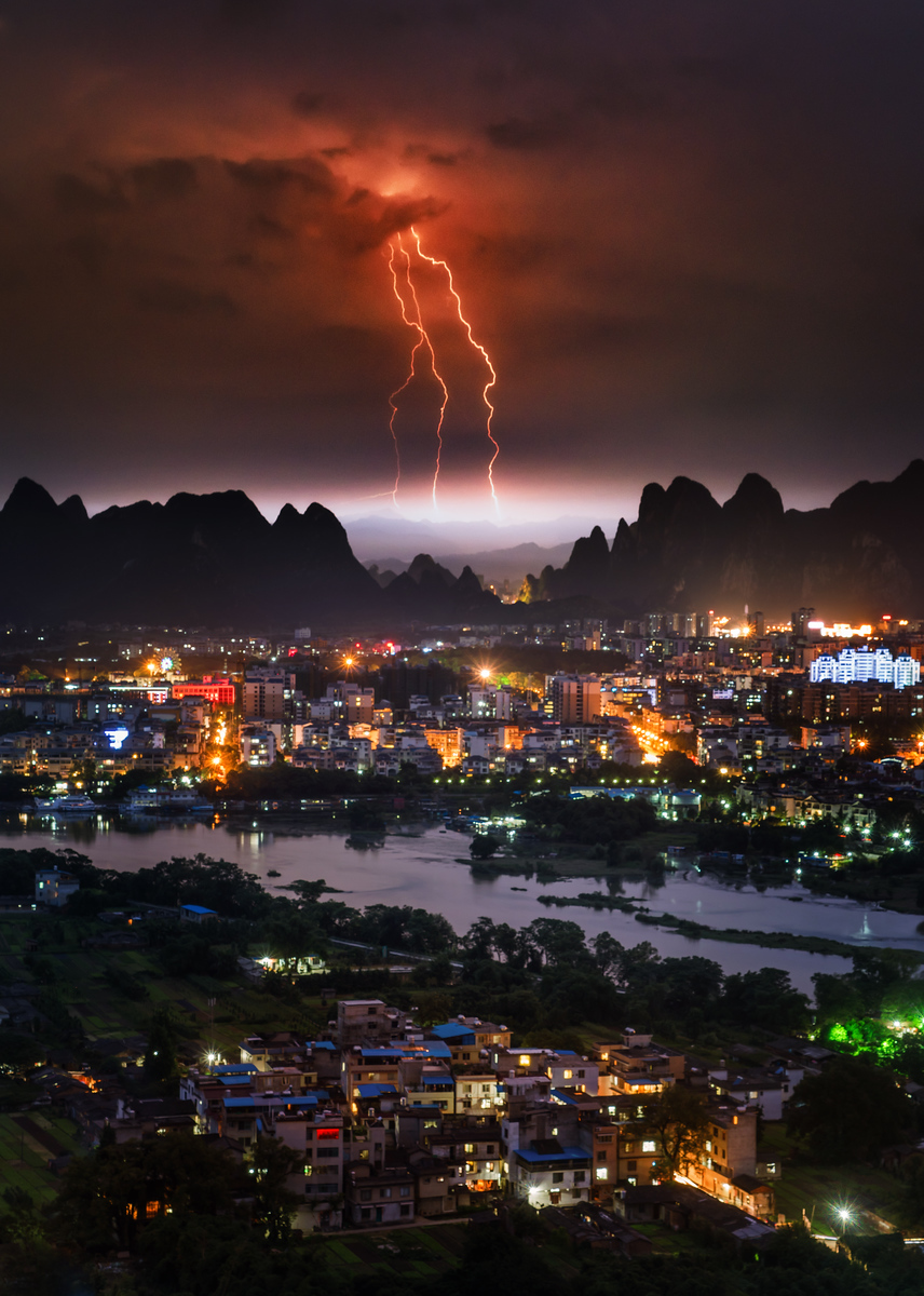 Stormchasing in Guilin, China