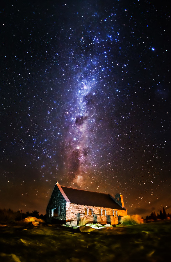 The Church of the Good Shepherd under the Stars