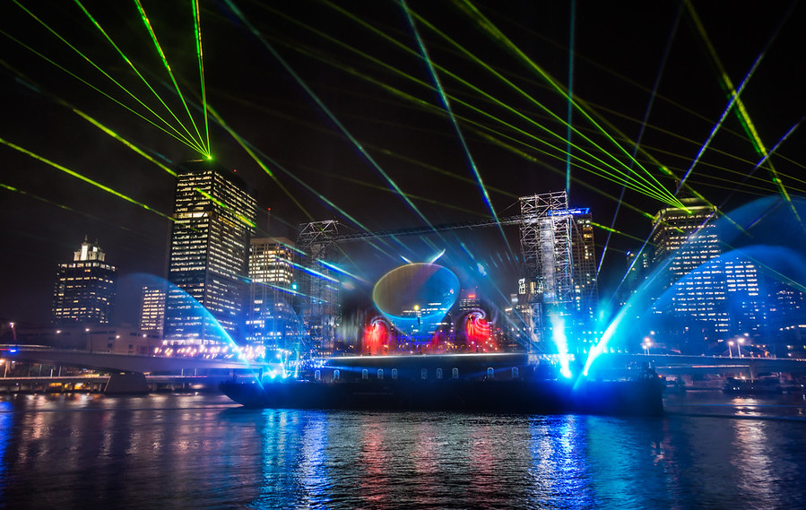 Brisbane Laser Light Show