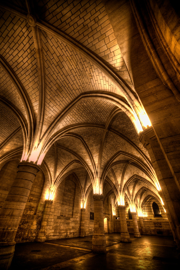 Inside the Conciergerie Paris France