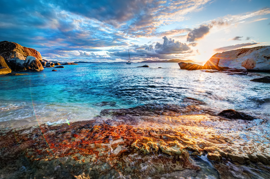 Virgin Gorda Sunset
