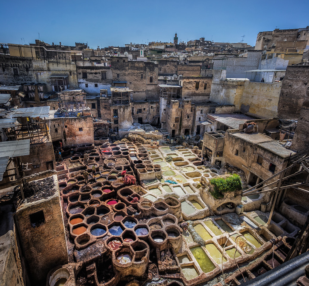 Tanneries In Fez