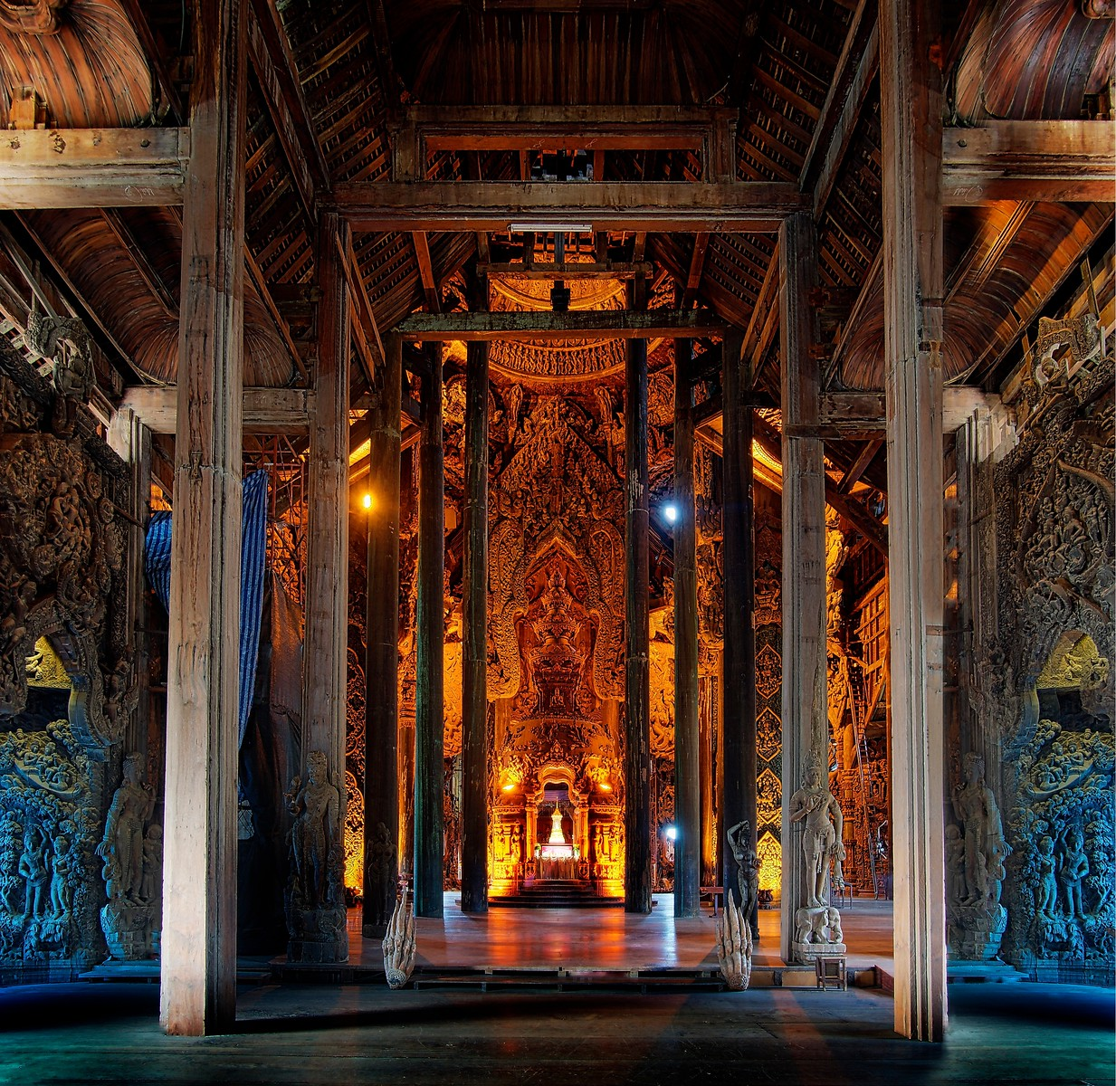 Inside the Greatest Temple
