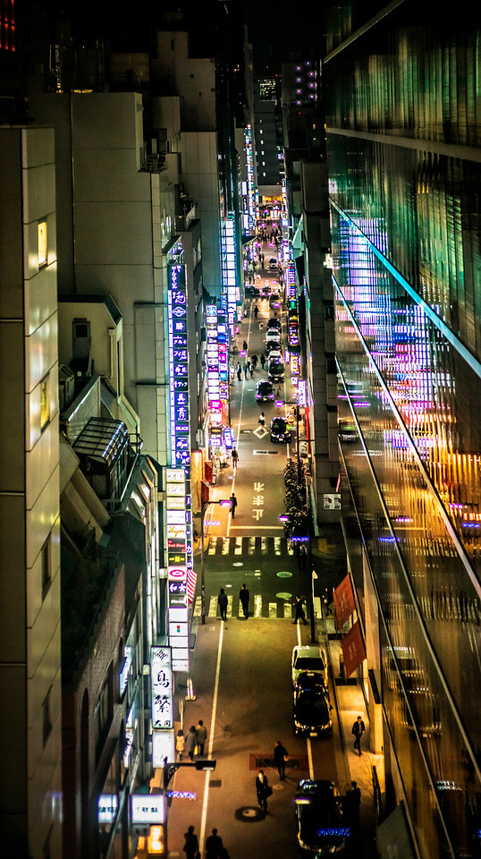 Ginza From High Above