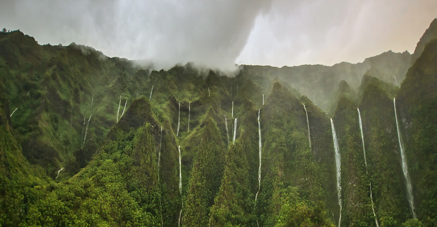The Waterfalls of the Lost World