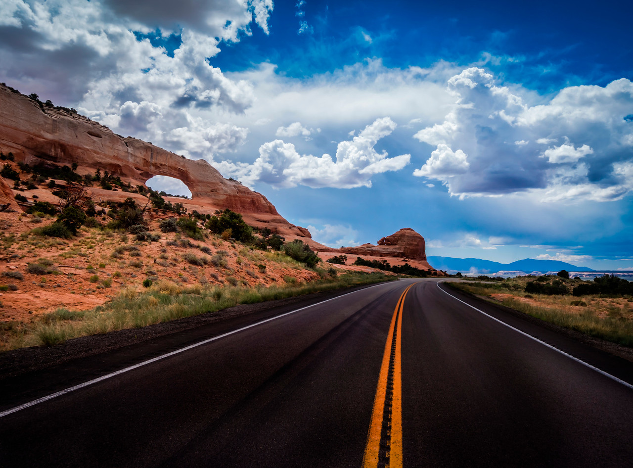 Beautiful Roads Across Utah