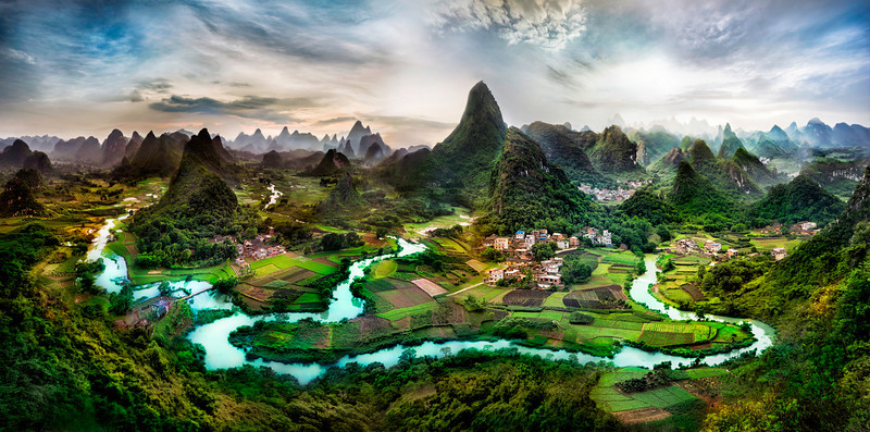 Deep in the Guangxi Province of China