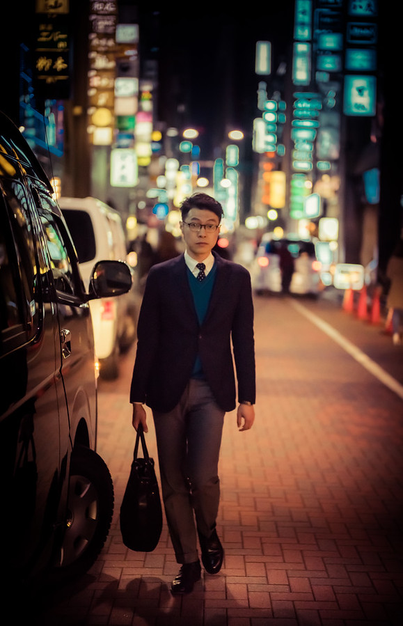 Man in Ginza