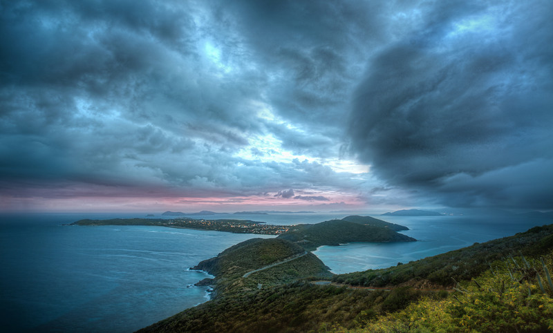 Massive Storm hits Virgin GordaThis turned out to be one of my favorite spots on Virgin Gorda a few weeks ago. There is a long road that trails up and down the island. Along one side of the big mountain, there is a little spot where you can get this perspective. I went up there early to grab photos of the sunset, but I was greeted with the sight of a massive storm instead!- Trey RatcliffClick here to read the entire post at the Stuck in Customs blog.  There's also a new video with my photography put to the music of Hans Zimmer.