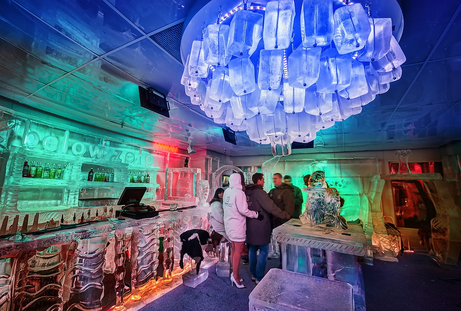 The Ice Bar in Queenstown The Ice Bar, Below Zero New Zealand