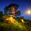 Exploring Hobbiton at Night