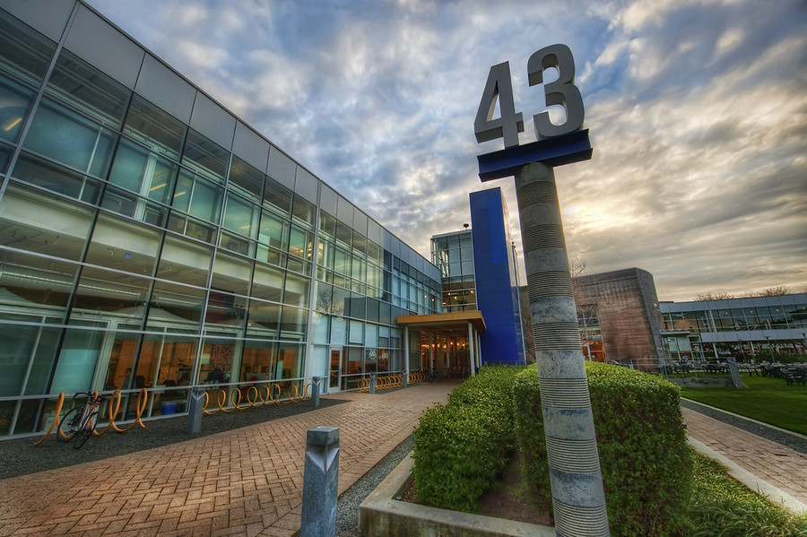 Building 43 at Google Wow I had a great time at Google!  The guys and gals there I met were very nice and cool...  After my Authors@Google talk, I stayed around for a while to take photos while waiting on the workshop to begin.  There are sensitive areas of Google, of course, and I didn't even try to take pictures of any of that stuff...  Building 43 is the central building of the whole Googleplex.  It houses the offices of Marissa Mayer (who did not show up for my talk *ahem*), Larry Page, and Sergey Brin.  I wanted to pop into their offices and make unique photos of their offices for fun, but I did not want to ask on my first visit.  Wouldn't that be one of the most interesting things in the world?  To see the offices of all these people?  They don't have to be awesome and all James-Bondy -- even something mundane would be interesting, if captured in the right way.  But I do picture Sergey stroking a white cat...- Trey RatcliffClick here to read the rest of this post at the Stuck in Customs blog.
