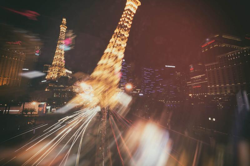 Stumbling around Vegas