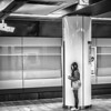 Girl Alone In The Tokyo Subway