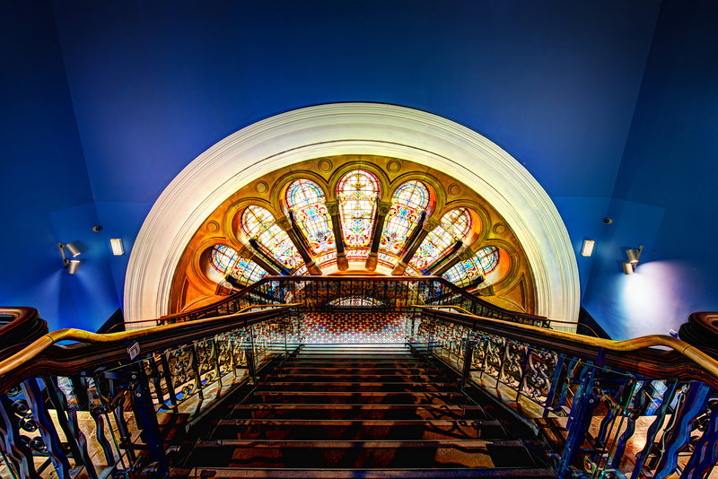 "<h2>Deep inside the Queen Victoria Building</h2> <br/>This is an amazing place to explore in Sydney! There are great photo-ops around every corner. The Romanesque architecture is whimsical and full of color. And even better, no one bothered me about my tripod!<br/><br/>Here's a cool little factoid about this place. Inside, there is a secret letter from Queen Elizabeth II that is to be opened and read by the Lord Mayor of Sydney in 2085. I have just checked my schedule, and currently that is the only thing I have planned for 2085.<br/><br/>- Trey Ratcliff<br/><br/><a href=""http://www.stuckincustoms.com/2012/10/28/deep-inside-the-queen-victoria-building/"" rel=""nofollow"">Click here to read the entire post at the Stuck in Customs blog.</a>"