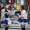 "<h2>Girls in Tokyo</h2> <br/>This is one of my favorite areas of Tokyo.  The dressed-up girls are only one of the reasons!  Also, it's the home of all sorts of crazy electronics, video games, gadgets, and other things that geeky guys from all cultures think is awesome.<br/><br/>These girls are all over the streets handing out little pamphlets and brochures for various goods and services.  Whatever you're into, well, they've got a place for it… sweet Japan! :)<br/><br/>- Trey Ratcliff<br/><br/><a href=""http://www.stuckincustoms.com/2012/05/04/girls-in-tokyo/"" rel=""nofollow"">Click here to read the rest of this post at the Stuck in Customs blog.</a>"