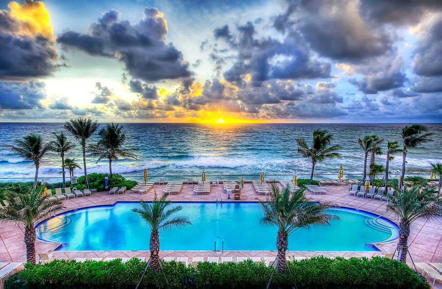 Swimming Pool in West Palm Beach Florida