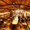 "<h2>Underlondon</h2> <br/>After a day of ""working hard"" by meandering all over London to take photos, we ended up here at this cool restaurant.  I'm sure some of our clever UK readers know exactly which one it is!<br/><br/>It was one of those places where you walk in and see 30 different kinds of bread.  So then, there is no choice left, and you simply have to get bread.  I can sometimes have good bread-willpower, but not when I am presented with so many choices.  It's sort of like peer-pressure... and every one of those different kinds of bread is a sentient being, beckoning me to eat em up.<br/><br/>- Trey Ratcliff<br/><br/><a href=""http://www.stuckincustoms.com/2011/02/23/underlondon/"" rel=""nofollow"">Click here to read the rest of this post at the Stuck in Customs blog.</a>"
