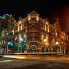 "<h2>The Driskill at Night</h2> <br/>Here is one of the photos that I process on the HDR DVD. <br/><br/>During the Austin Workshop, we had a professional team in place to make sure everything went off without a hitch.  We started the weekend with a long photowalk through the streets of Austin.  I stopped to take a photo of The Driskill hotel, which happened to be the same place we held the actual workshop.  I talked through the shot a little bit and what I was trying to accomplish.<br/><br/>During the actual workshop, I did not process this photo.  But I have since done so, and I recorded the whole session to be on the DVD as well.  It's one of those classic ""problems"" where there is a lot of ghosting from the car movement.<br/><br/>- Trey Ratcliff<br/><br/><a href=""http://www.stuckincustoms.com/2010/05/31/the-driskill-at-night/"" rel=""nofollow"">Click here to read the rest of this post at the Stuck in Customs blog.</a>"