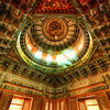 "<h2>Inside the Dome</h2> This beautiful dome was inside one of the side-cloisters in the Forbidden City.  I remember spending about five minutes trying to line this up inside the camera.  These can be very difficult to re-align in Photoshop.  But, luckily, all my preparations paid off and it came out pretty good right out of the camera!  - Trey Ratcliff  Read the rest <a href=""http://www.stuckincustoms.com/2011/10/13/18529/"">here</a> at the Stuck in Customs blog."