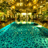 "<h2>The Pool That Taunted Me in Jogjakarta</h2> <br/>Can you believe that I looked at that pool every day and I never got in? It was there day after day… alluring and perfect… looking warm and fun… I would walk around it, admire it, take photos of it, pass it on the way to the spa… I did just about everything to that pool but get in. I thought about it a lot, for whatever that's worth (a lot, actually, I have an active imagination). But next time I get there, I'm goin' in… I think about what those little tiles will feel like slippin' around under my toes… It's gonna be great! <br/><br/>- Trey Ratcliff<br/><br/><a href=""http://www.stuckincustoms.com/2009/01/07/the-pool-that-taunted-me-in-jogjakarta/"" rel=""nofollow"">Click here to read the rest of this post at the Stuck in Customs blog.</a>"
