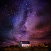 the space between here and there