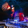 """<h2>Fireworks on the Disney Cruise</h2> I was not sure where exactly the fireworks shot off the top of the Disney Fantasy, so I gambled and guessed that this area on Deck 13 in the """"Adults Only"""" area of the ship would be best.  There is a little curving area that juts out that I thought would be perfect...  I asked a few cast members, and they told me to be over on the starboard side, but I tried to explain that I wanted to get the boat in the shot too -- this confounded them... so, anyway, I was over in this spot pretty much by myself... which is fine with me!<br/><br/>- Trey Ratcliff<br/><br/><a href=""""http://www.stuckincustoms.com/2012/04/10/fireworks-on-the-disney-cruise/"""" rel=""""nofollow"""">Read the rest of this post over at the Stuck in Customs blog.</a>"""