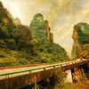 Driving through Remote China