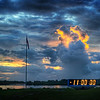 "<h2>The Countdown Clock at Sunrise</h2>  this is the famous countdown clock. Scott Kublin and I woke up before 5 AM to start setting up our remote cameras. One of them Leo Laporte Fed-exed to me overnight so we could have time to set it up… we put those inside the blast zone and set them up to automatically fire at the launch. We made a behind-the-scenes video to show how everything was done… it will be edited and shared soon… but, in the meantime, here is what I saw first thing in the morning upon arrival to NASA.  - Trey Ratcliff  Read the whole entry <a href=""http://www.stuckincustoms.com/2011/07/08/final-night-of-the-space-shuttle/"">here</a> at the Stuck in Customs blog."
