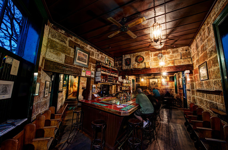 """<h2>The Old Pub in The Rocks, Sydney</h2> <br/>What a cool place! I was in Sydney on a secret mission with a friend (to be revealed later), and it was important that we visit as many pubs as possible in the oldest part of Sydney. I think this was one of our favorites.<br/><br/>Inside, there was a warm, old feeling that only comes from old buildings. This feeling is always missing from new buildings that are made to look old. Maybe it's just in my head, or maybe something else is going on beyond my ken.<br/><br/>- Trey Ratcliff<br/><br/><a href=""""http://www.stuckincustoms.com/2012/11/10/the-old-pub-in-the-rocks-sydney/"""" rel=""""nofollow"""">Click here to read the rest of this post at the Stuck in Customs blog.</a>"""