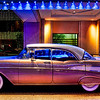 "<h2>The 57 Chevy</h2> <br/>This is a shot of a '57 Chevy.  I saw it when walking back to the Magnolia Hotel on Friday night after dinner in Dallas.  I took a photo of this pretty car under the blue lights of the porte-cochere, went upstairs to my room, downloaded the Topaz Bundle software, made the adjustments, and had the whole thing finished in less than 30 minutes.  That quick turnaround speaks to how easy the software is to use.  I've since used it on a number of other images, including some unpublished ones.<br/><br/>- Trey Ratcliff<br/><br/><a href=""http://www.stuckincustoms.com/2009/04/29/a-topaz-adjust-review/"" rel=""nofollow"">Click here to read the rest of this post at the Stuck in Customs blog.</a>"