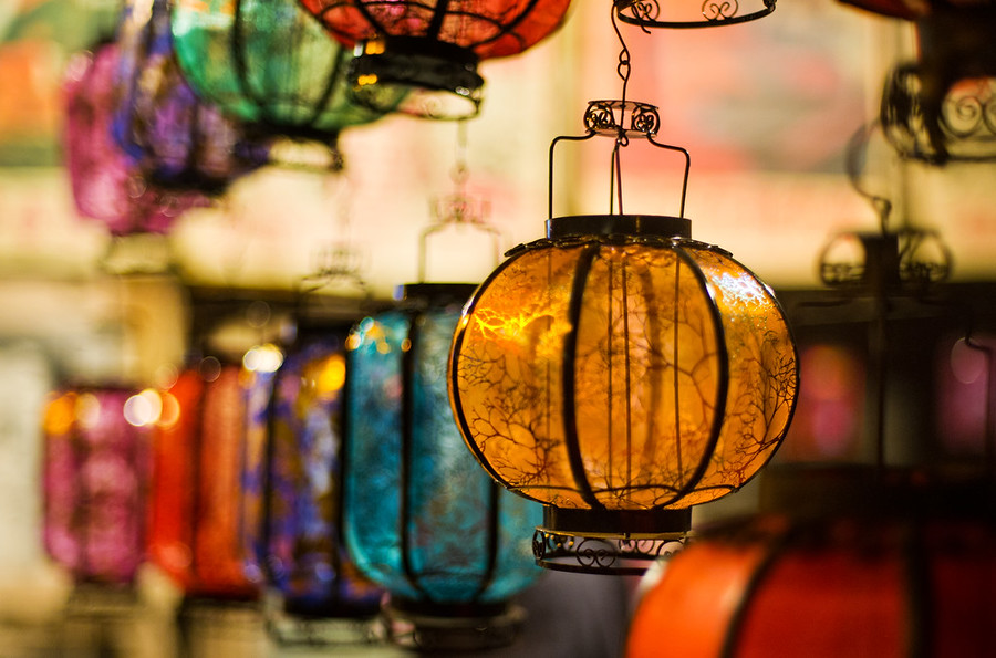 Lanterns in China