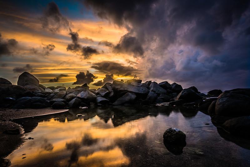A Strange Night In The Rocks