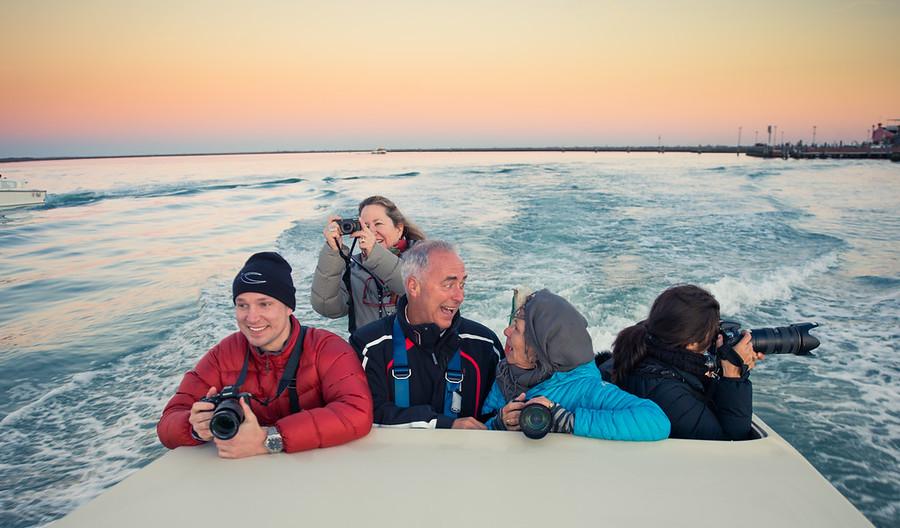 Happy Wayne On A Boat